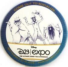 Hitchhiking Ghosts D23 Expo 2009 Disney Event Button Nip