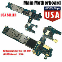 For Samsung Galaxy Note 4 SM-N910T N910C UNLOCKED TMOBILE Main Motherboard #USA