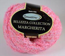 Sensations Bellezza Collection Margherita Yarn 1.75 oz Skein Pink Color #4 Yarn