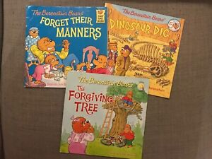 3 berenstain bears books christian fiction Stan jan and mike reader