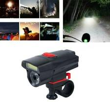 AAA Battery Bike Front Head Light Cycling Bicycle LED Lamp 6 Modes Flashlight UK