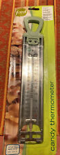 New Sealed Candy Deep Frying Thermometer Stainless Steel Stay Cool Handle