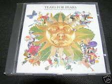 TEARS FOR FEARS - TEARS ROLL DOWN Rare Israel Made CD