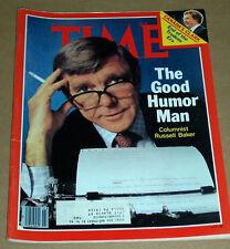 TIME MAGAZINE JUNE 4 1979 RUSSELL BAKER CANADAS CLARK