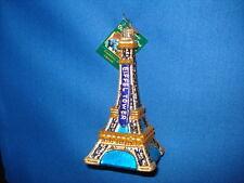 Eiffel Tower Ornament Glass Old World Christmas 20056 19