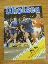 14/01/1981 Chelsea v DS-79 [Friendly] . Good condition unless previously stated