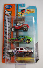 Matchbox JAKE & THE NEVR LAND PIRATES 3 PACK 2012 ISSUE
