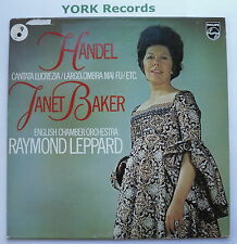 JANET BAKER - Handel - Cantata Lucrezia - Ex Con LP Record Philips 6500 523