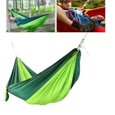 Light Weight Minimal Army Green Nylon Camping Hammock With Rope US Seller