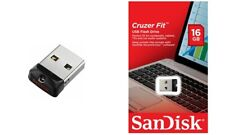 SanDisk 16GB CRUZER FIT USB Flash Drive Pen Drive Small USB 2.0