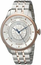 Gevril Men's 2003B Columbus Circle Automatic Limited Edition Date Two Tone Watch
