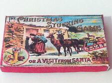 Casa De Muñecas Victoriano Navidad Caja Juego Circa 1896