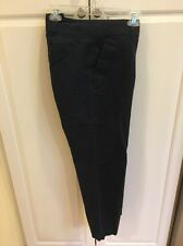Talbots Misses Size 14 Navy The Daily Ankle Summer Dress Pants