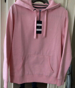 Crew Clothing Pink Hoodie Size 12 BNWT