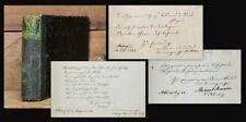 1844-45 Studenten-Stammbuch Album amicorum Freundschaftsalbum Franken