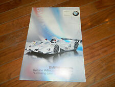 1999 BMW MINIATURES DieCast Die-Cast Collectables/Accessories Catalog / Brochure