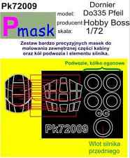 Dornier Do335 Pfeil PAINTING MASK TO HOBBY BOSS KIT #72009 1/72 PMASK