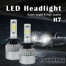 Error Free H7 LED Headlight Conversion Kit 6500K Low Beam Bulbs White 16000LM