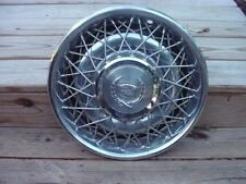 """Cadillac !5"""" wire Wheel Cover 1975 - 84 Fleetwood Deville"""