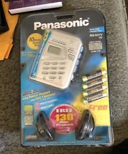 PANASONIC ~ RQ-E27V AM/FM CASSETTE WALKMAN ~ NEW!!
