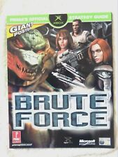 52232 Brute Force Prima's Official Strategy Guide + Poster