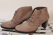 Gabor Ankle-Boots taupe Gr. 8 = Gr. 42 NEU (175)