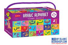 Arabic Alphabet Floor Puzzle Muslim Islamic Children Play & Learn Gift Ideas