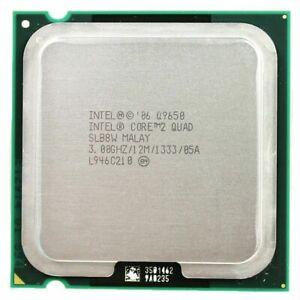 Processeur PC Intel Core 2 Quad-Core Q9650 Socket LGA 775, 3.0 Ghz/12 M/1333 GHz