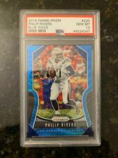 2018 Panini Prizm BLUE WAVE #220 PHILIP RIVERS (ONLY 4/199).......PSA 10!