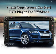 """8"""" Car DVD GPS Navigation Radio Player Stereo Touch screen BT USB iPod for Golf"""