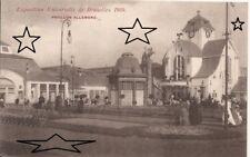 CPA - EXPO BRUXELLES 1910 - Le Pavillon Allemand - NEUVE