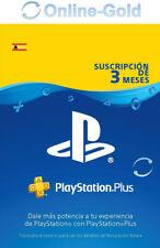 PlayStation Plus Tarjeta 90 Días Sony PSN PS3 PS4 PS Vita 3 Meses Suscripción ES