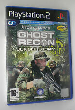 GHOST RECON JUNGLE STORM  SONY PS2 PLAY STATION PS 2