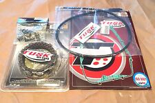 Yamaha BLASTER 200 1988–2006 Tusk Clutch, Springs Cover Gasket, & Cable Kit