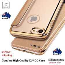 Genuine XUNDD Leather Luxury Case Cover F Apple iPhone 7 i7 Plus iPhone X