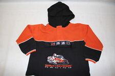 HARLEY-DAVIDSON Motor Cycles Youth Long Sleeve Shirt, Orange & Black, Sz 4T