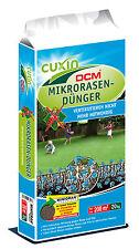 Aktion 20 kg CUXIN Mikro Rasendünger gegen Moos Filz im Rasen ohne vertikutieren