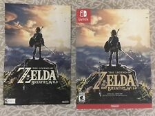 NEW LEGEND OF ZELDA BREATH OF THE WILD SPECIAL EDITION NINTENDO SWITCH W/ POSTER