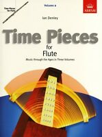 Time Pieces For Flute ABRSM Ian Denley Vol: 1,2,3