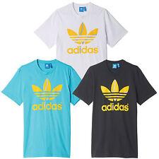 adidas Originals Flock Tennis Ball Tee Herren-T-Shirt Sportshirt Freizeitshirt