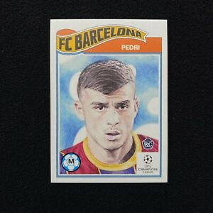 2020 Topps UCL Living Set Pedri #243 FC Barcelona Rookie RC