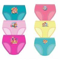 Girls Childrens Paw Patrol Knickers Briefs Pants Underwear 3 Pack Aged 1-5 Ys