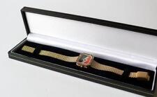 Raymond Weil Vintage 17 Jewel Hand Wound Art Deco Style Mesh Bracelet Watch runs