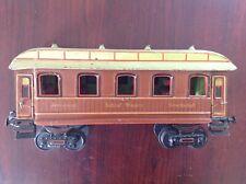 Marklin Ga. 1 Sleeper Coach, Schlaf Wagon, 1910 era, Hand Painted + Interior, VG