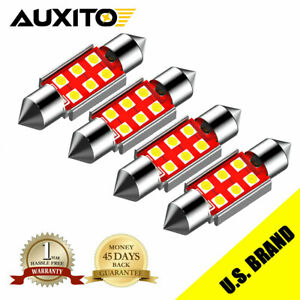 Eoo Auxito LED Courtesy Dome Trunk Map White 6000K Light Bulbs 578 211-2 41/42MM