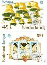Nederland Maximumkaart(en) R21-22 W afgestempeld op 1e dag van uitgifte 1981