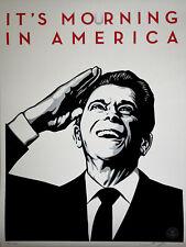 Shepard Fairey (Obey) It's Mourning in America - Orig.Siebdruck, Sign.,num.,dat.