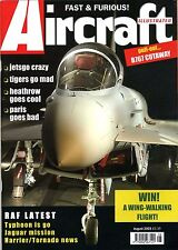 Aircraft Illustrated 2003 August Coltishall Jaguar,Boeing 767,Jetsgo,UH-3H