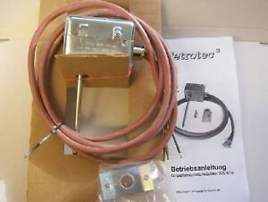 Flue Gas Thermostat WS 519 Exhaust Gas Temperature Sensor Choice Of 50°, 60°, 80