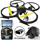 UDI RC Drones with Camera for Adults and Kids - U818A WiFi FPV 720p HD Camera Dr